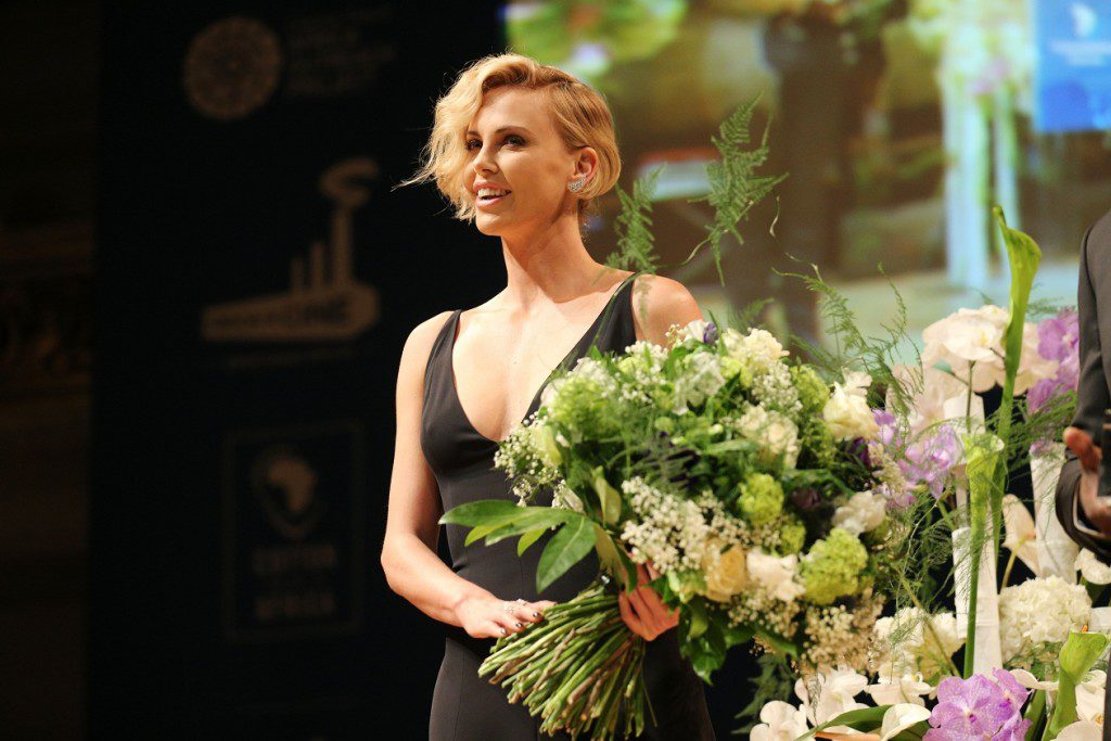 BERLIN, GERMANY - FEBRUARY 15:  Charlize Theron attends the Cinema For Peace Gala 2016 during the 66th Berlinale International Film Festival on February 15, 2016 in Berlin, Germany.  (Photo by Gisela Schober/Getty Images for Cinema For Peace)