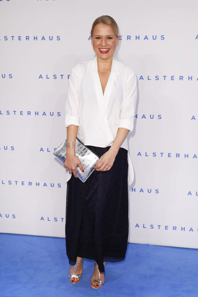 HAMBURG, GERMANY - NOVEMBER 16: Nova Meierhenrich attends the new Luxury Hall Opening of the Alsterhaus on November 16, 2016 in Hamburg, Germany. (Photo by Franziska Krug/Getty Images for Alsterhaus)