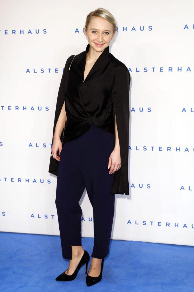 HAMBURG, GERMANY - NOVEMBER 16: Anna Maria Muehe attends the new Luxury Hall Opening of the Alsterhaus on November 16, 2016 in Hamburg, Germany. (Photo by Franziska Krug/Getty Images for Alsterhaus)