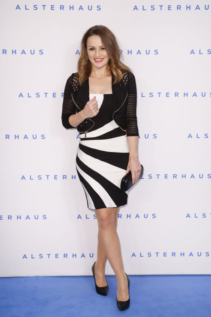 HAMBURG, GERMANY - NOVEMBER 16: Ina Menzer attends the new Luxury Hall Opening of the Alsterhaus on November 16, 2016 in Hamburg, Germany. (Photo by Franziska Krug/Getty Images for Alsterhaus)