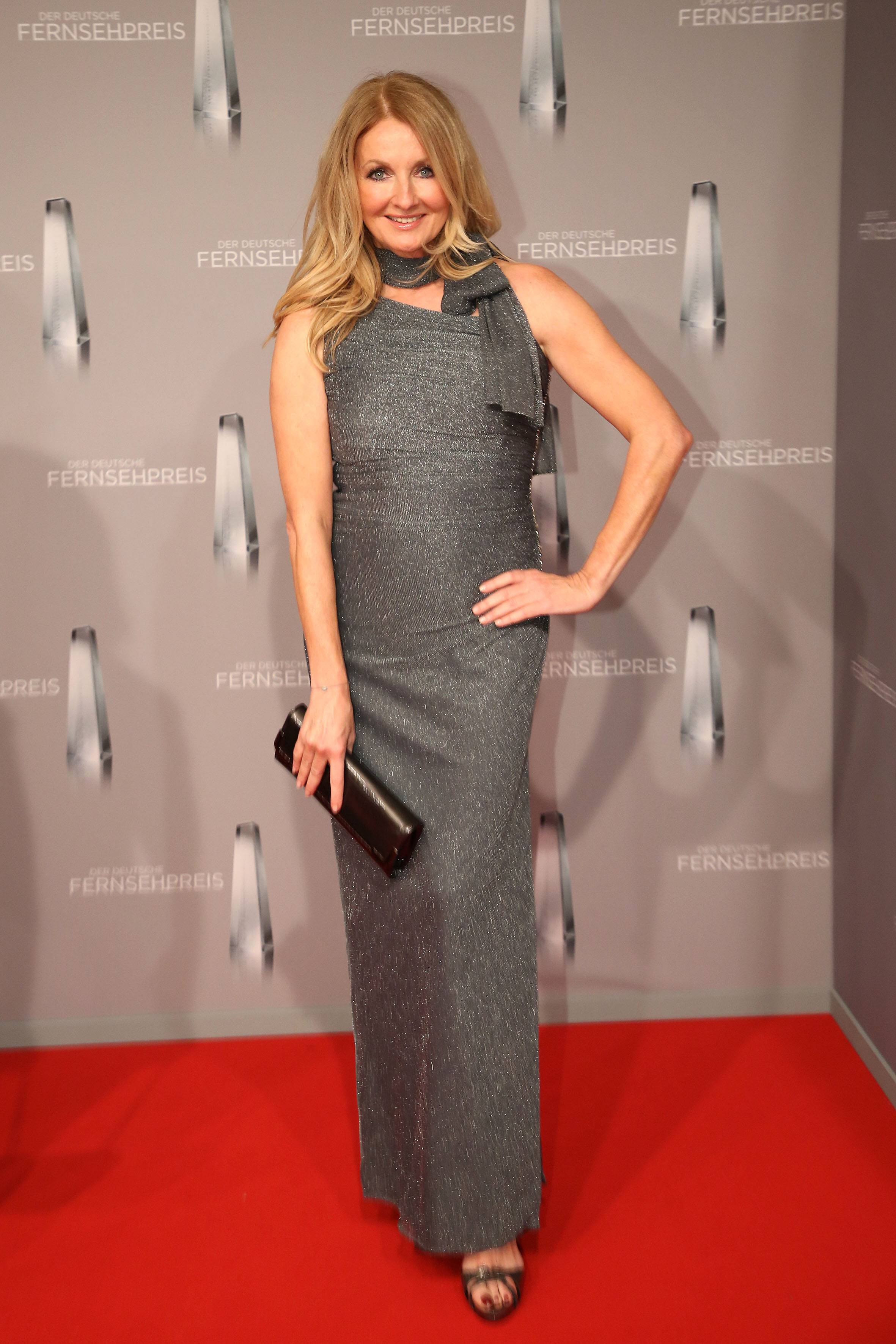 Frauke Ludowig bei der Verleihung Deutscher Fernsehpreis am 02.02.17 in Düsseldorf Deutscher Fernsehpreis Verleihung 2017 in Duesseldorf PUBLICATIONxINxGERxSUIxAUTxONLY Frauke Ludowig at the award Ceremony German Television at 02 02 17 in Dusseldorf German Television award Ceremony 2017 in Duesseldorf PUBLICATIONxINxGERxSUIxAUTxONLY